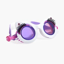 ***Whiskers White Swim Goggles