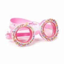 ***Boston Creme Pink Donut Swim Goggles