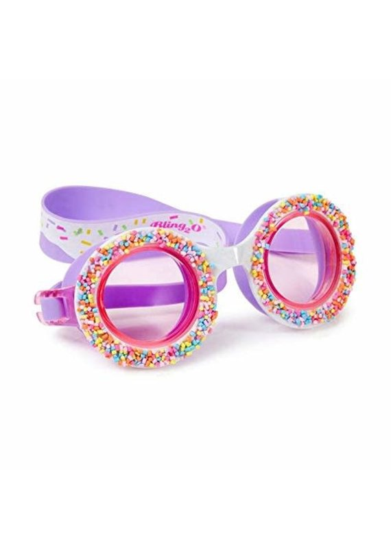 Bling2O ****Grape Jelly Donut Swim Goggles