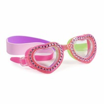 ***Punch Pink Heart Swim Goggles