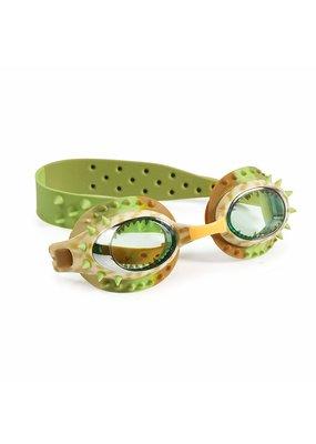 Bling2O ***Carnivore Brown Dinosaur Swim Goggles