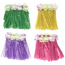 ***Drink Hula Skirts 4ct