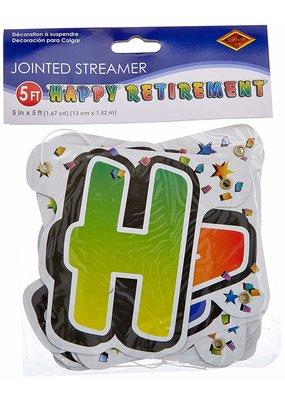 ****Happy Retirement Streamer