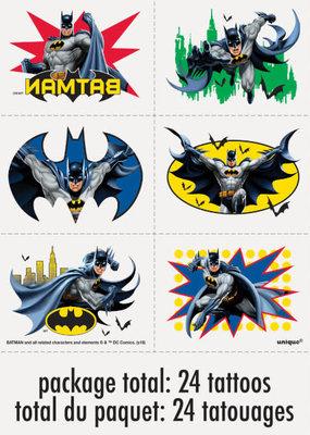 ***Batman Tattoos 24ct