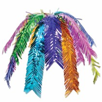 ***Colorful Palm Leaf Hanging Cascade