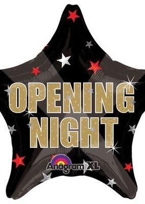 ***Opening Night Star Mylar Balloon