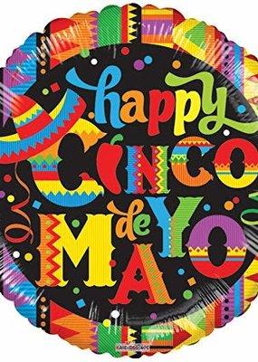 ***Happy Cinco de Mayo Mylar Balloon