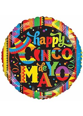 ***Happy Cinco de Mayo Mylar Balloon