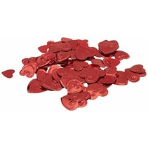 ***Red Hearts Confetti