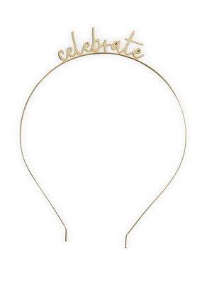 ***Celebrate Gold Headband
