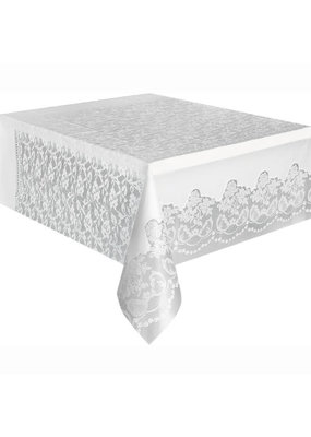***Lace Plastic Tablecover