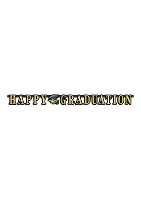 ***Happy Graduation Jointed Banner