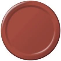"***Brick 7"" Paper Dessert Plates24ct"