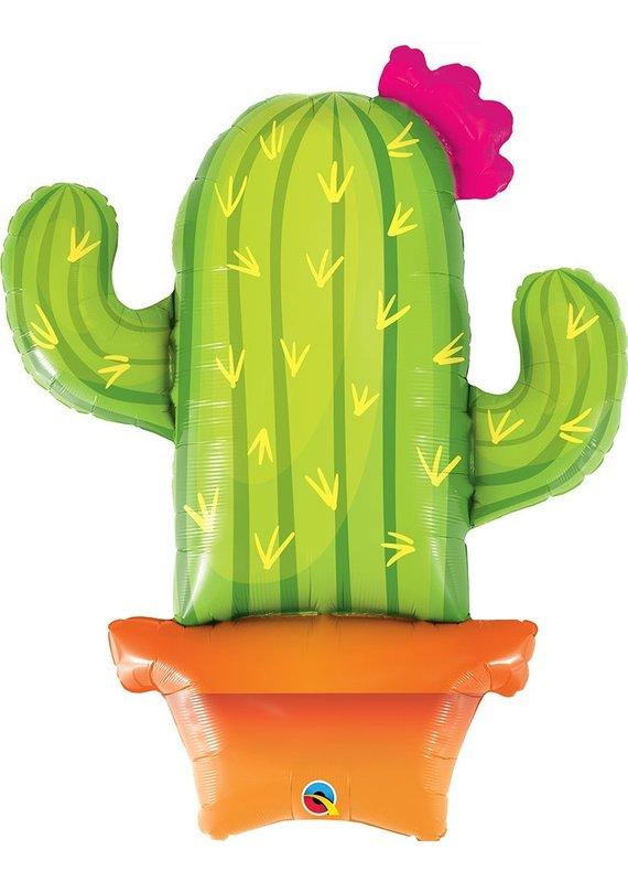 """*****Cactus Jumbo 39"""" Mylar Balloon"""