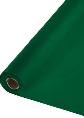 ***Hunter Green 100' Roll Plastic Tablecover