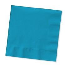 ***Turquoise 2ply Beverage Napkins 50ct