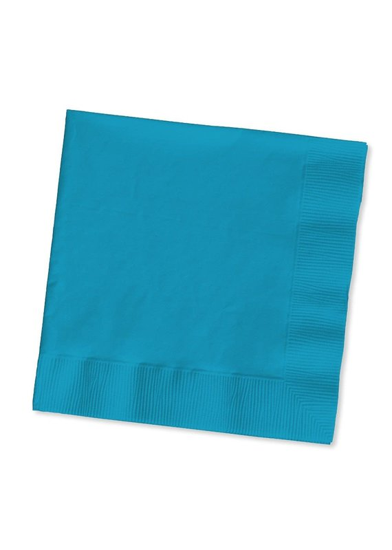 ****Turquoise 2ply Lunch Napkins 50ct