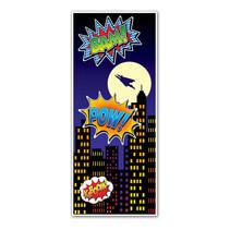 ***Super Hero Door Cover