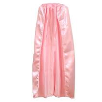 ***Pink Satin Super Hero Cape