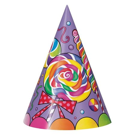 ***Candy Party Party Cone Hats