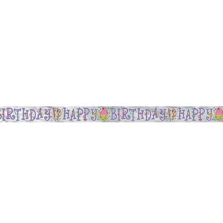 ***Candy Party Foil Banner