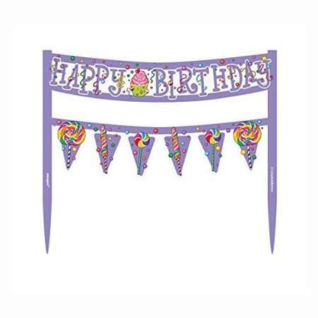 ***Candy Party Cake Banner