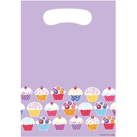 ***Sweet Cupcake Party Treat Bags