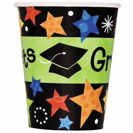***Grad Stars 9oz Cups