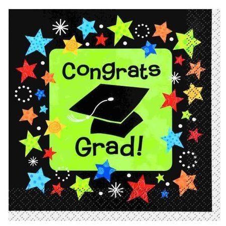 ***Grad Stars Lunch Napkins