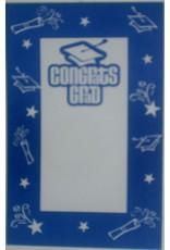 ***Congrats Grad True Blue Imprintable Invitations