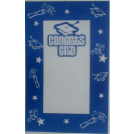 ***Congrats Grad True Blue Imprintable Invitations