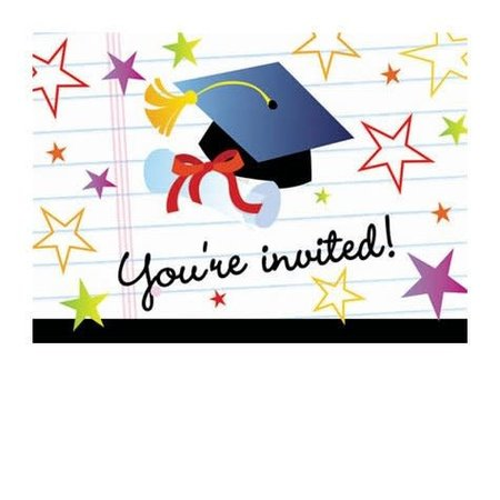 ***Open House Graduation Invitations