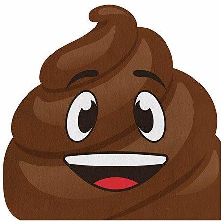 ***Poop Emoji Shaped Napkins 16ct