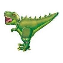 "***T-Rex Dinosaur 36""x30"" Mylar Balloon"