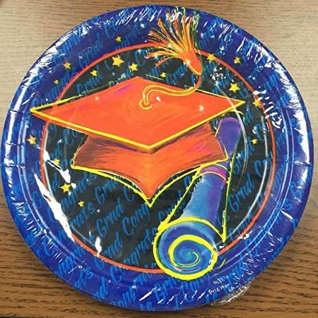 ***Grad Time 9in Plates
