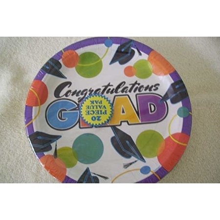 ***Super Grad 9in Plate (20ct)