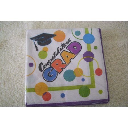 ***Super Grad Beverage Napkins (20ct)