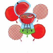 ***Cookout Balloon Bouquet