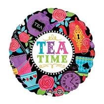 """***Tea Time 18"""" Mylar Balloon"""