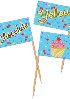 ***Cupcake Food Picks 50ct