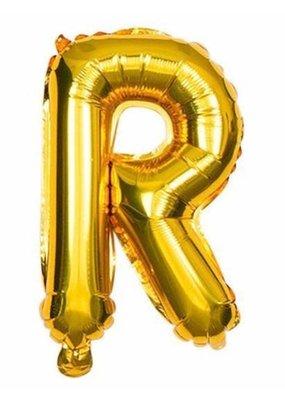 "***Gold Letter R Balloon 32"" Tall"