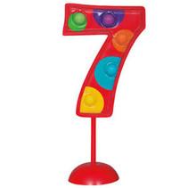 ***Flashing Number 7 Decoration