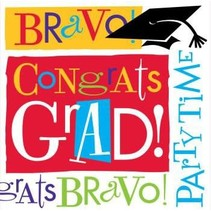 ***Bravo Graduation Lunch Napkins 100ct.