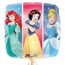 "***Disney Princess 18"" Square Mylar Balloon"