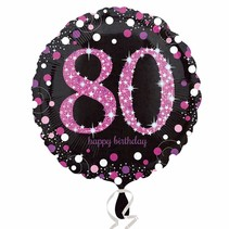 ***Pink Celebration 80 Mylar Balloon