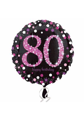 ****Pink Celebration 80 Mylar Balloon