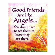 ***Good Friends Are Angels Magnet
