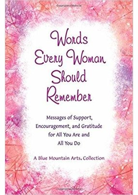 ***Words Every Woman Should Remember Book