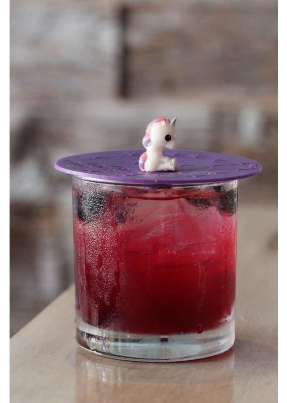 """On Topz ***On Topz Unicorn 4"""" Drink Topper"""