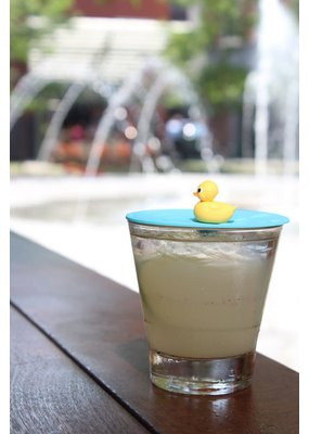 "On Topz ***On Topz Rubber Duck 4"" Drink Topper"